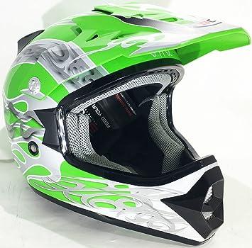 Motocicleta Cascos niños 3GO X14 FLAME casco moto scooter casco motocross Enduro-quad y off