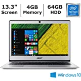 2019 New Acer Swift 1 SF113 Ultra-Thin Laptop with 13.3
