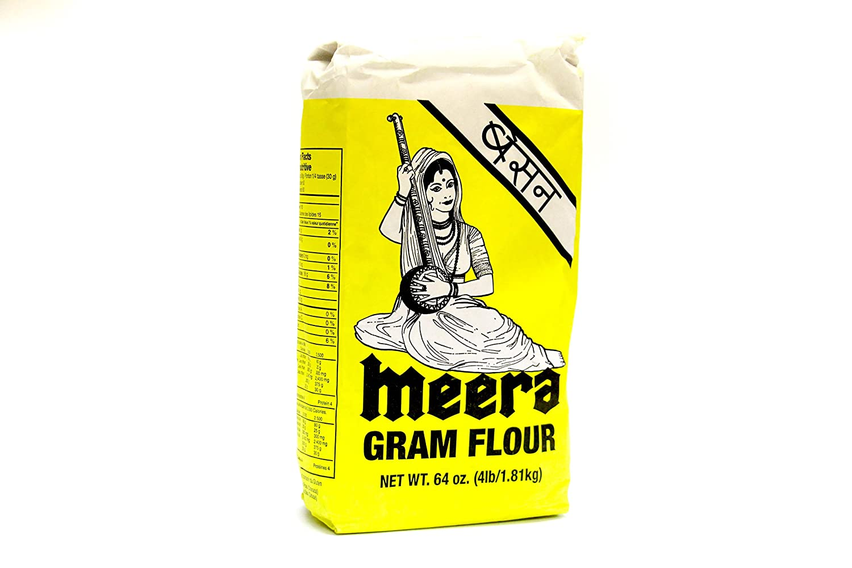 Amazon com : Meera Besan (Gram Flour) 4lb : Grocery