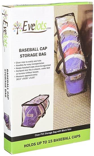 baseball cap hat storage bag zipper shut organizer rack display ideas