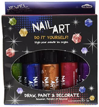 Npw mini nail art pen jewel pack of 5 amazon toys games npw mini nail art pen jewel pack of 5 solutioingenieria Image collections