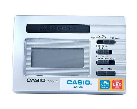 Casio DQ-541D-8R - Despertador, color plateado