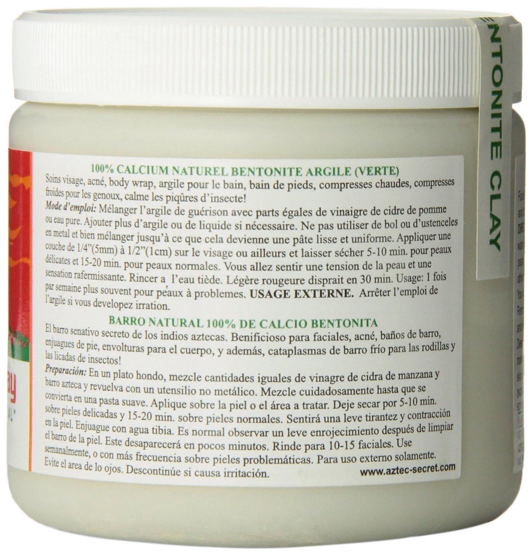 Amazon.com: Mascarillas De Arcilla Natural Faciales - Limpieza Profunda Para El Rostro - Combate El Acne Para Una Piel Clara Y Limpia: Beauty