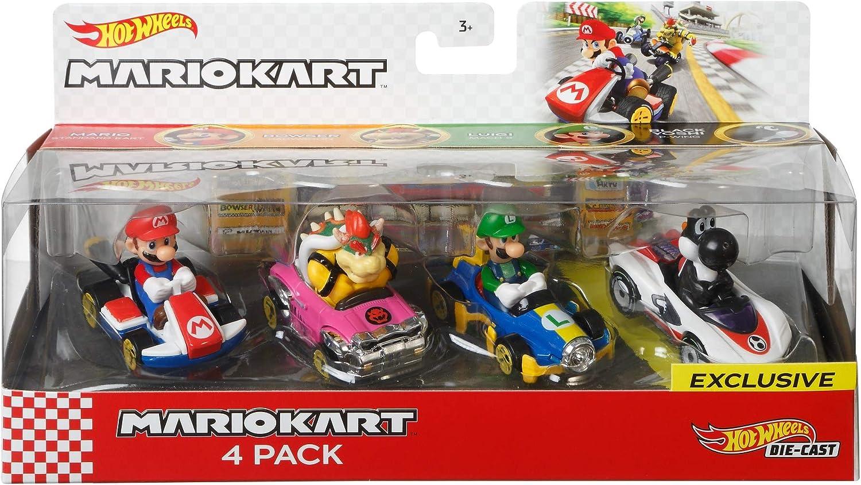 Mariokart Sammler Hot Wheels Rot Yoshi Standard Kart Charakter Autos Neu
