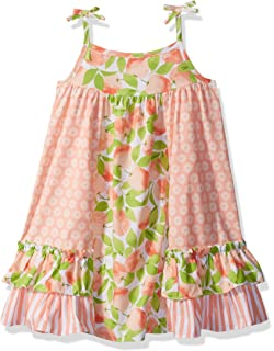 4cdd72b70a7 Amazon.com: Bonnie Jean Toddler Girl's Knit Float Dress: Clothing