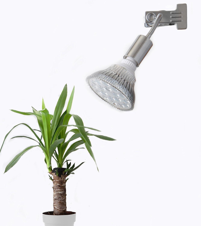 クリップ式 18W  ハイパワー 強力 LED植物育成 ライト B014LEZ0I2