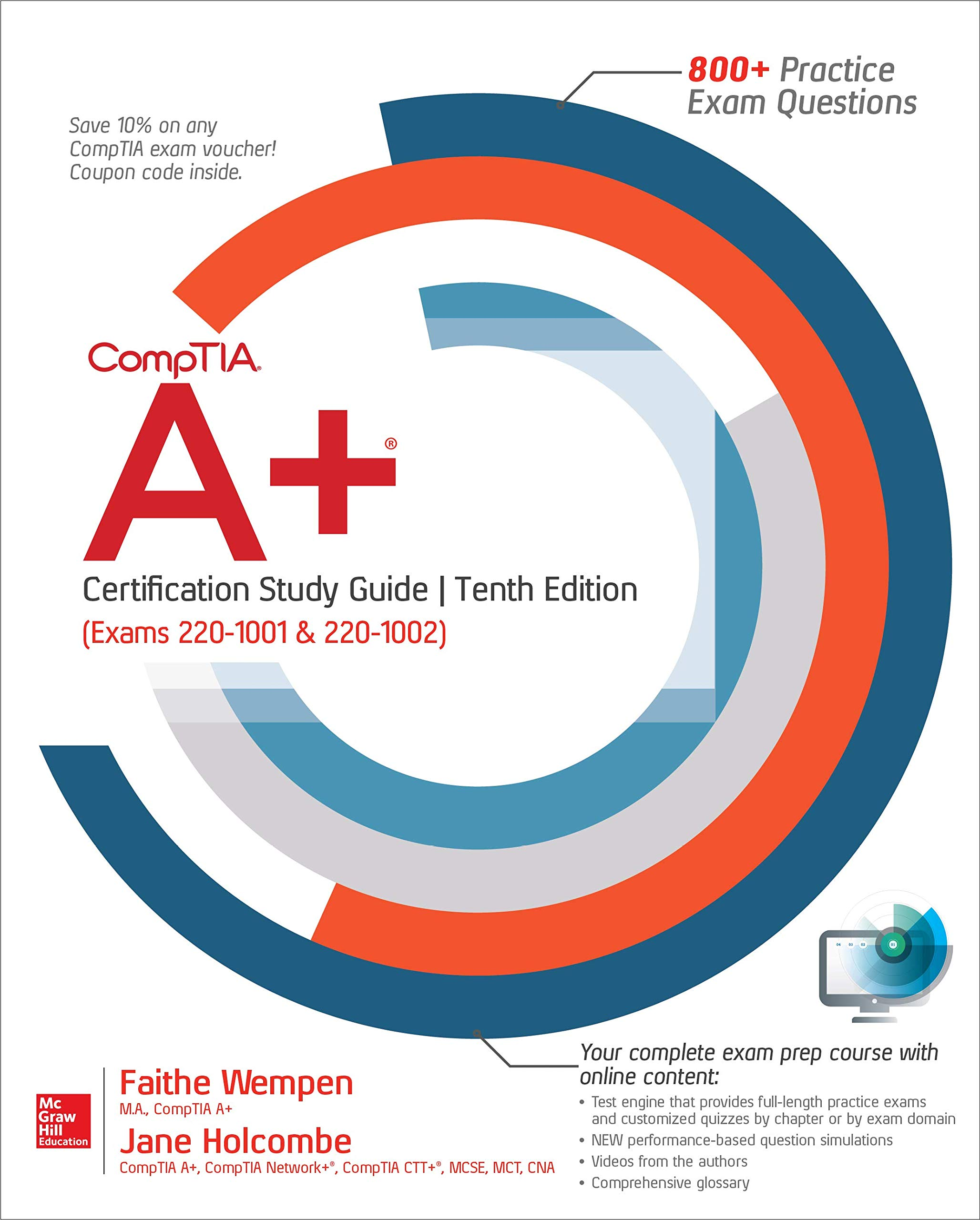 CompTIA A+ Certification Study Guide, Tenth Edition (Exams 220-1001 & 220-1002) by McGraw-Hill Education
