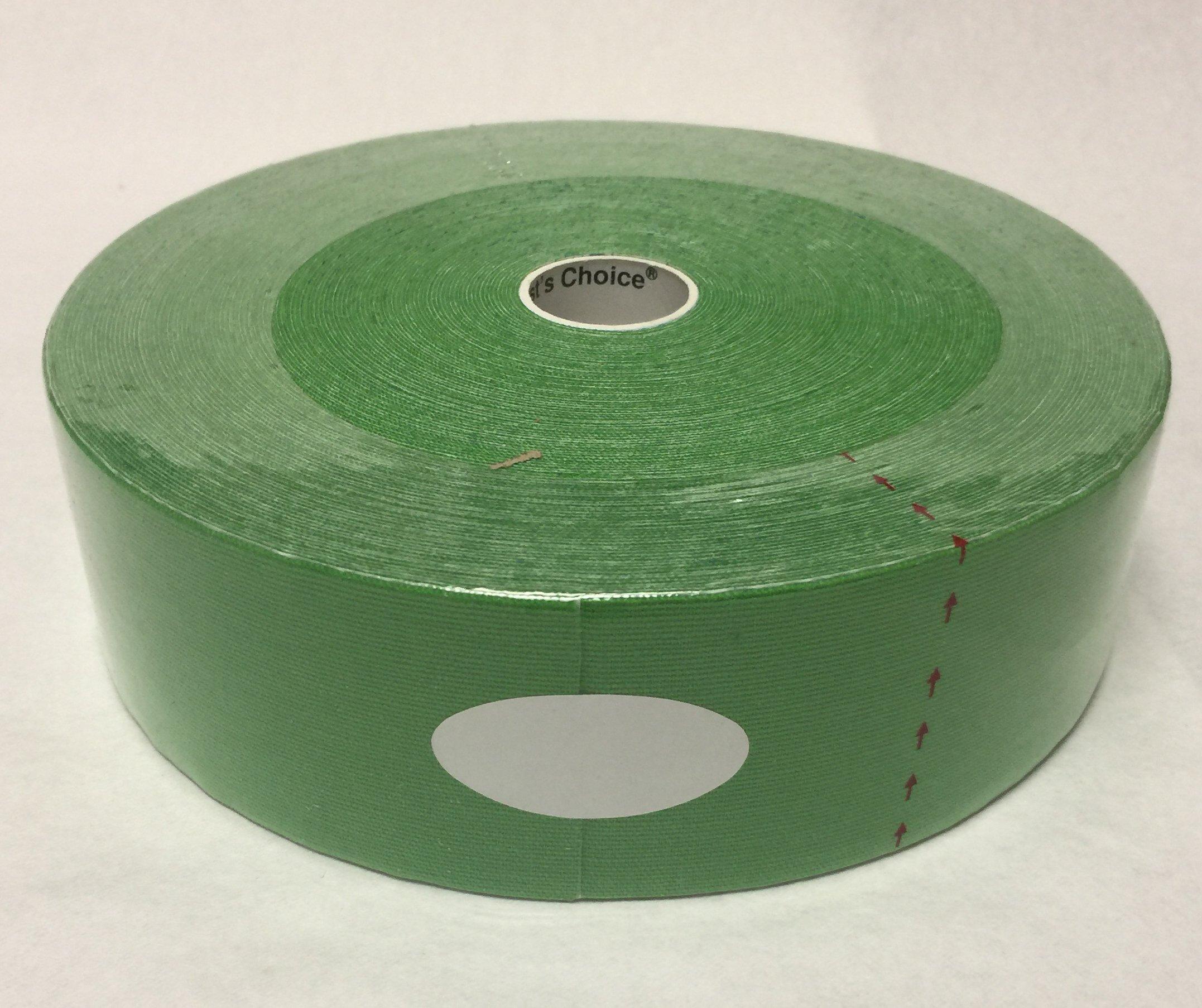 Therapist's Choice® Kinesiology Tape Bulk Roll (2-Inch x 105-Feet) (Hot Green)