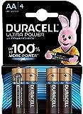 Duracell Ultra Power Pilas Alcalinas AA, Paquete de 4