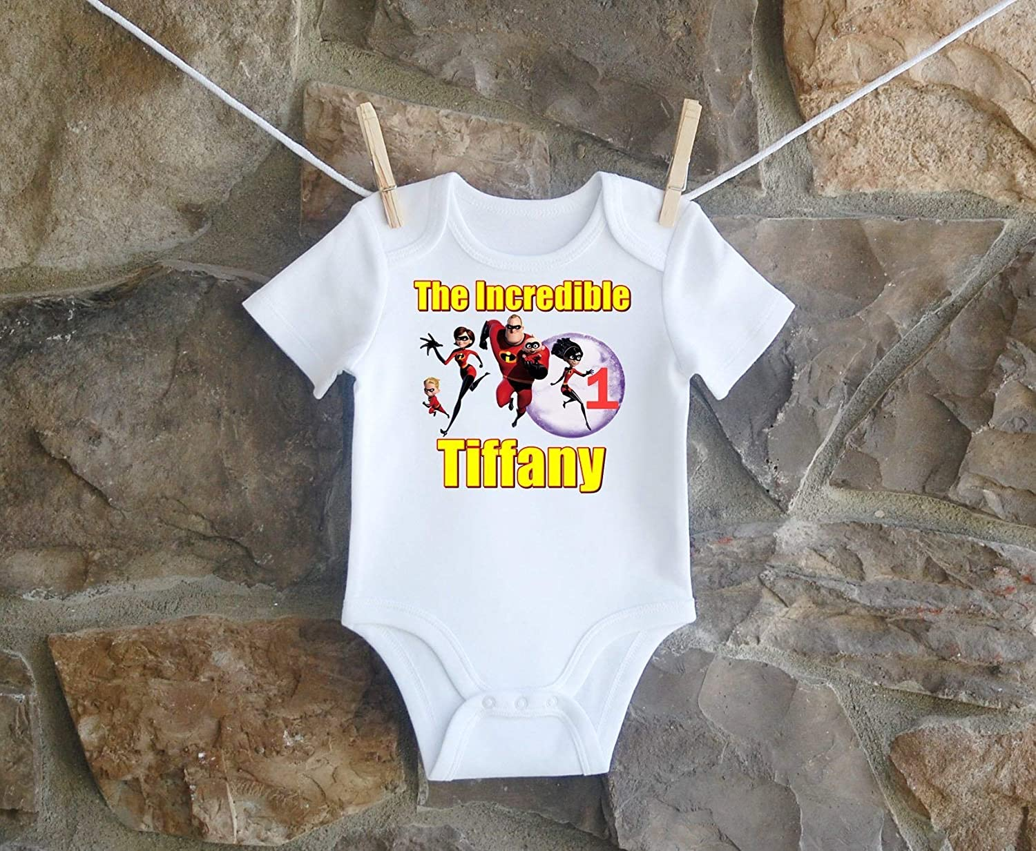 The Incredibles Birthday Shirt For Girls Personalized Customized