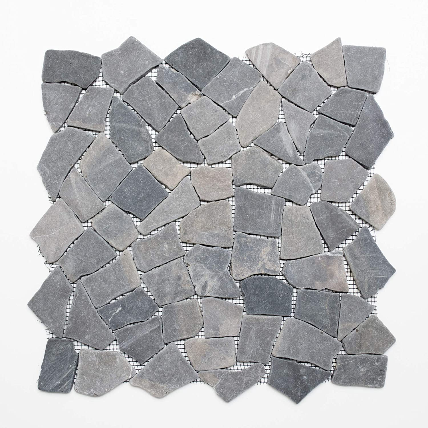 Tiles mosaic glass mosaic tile marble grey New 8  mm # 401 123mosaikfliesen