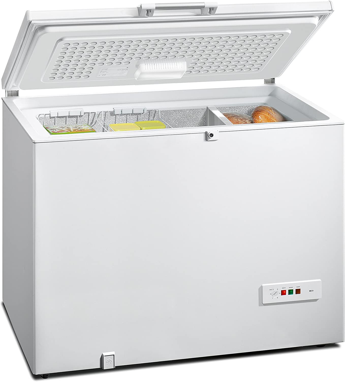 Siemens GC27MAW40 - Congelador (Baúl, Independiente, Color blanco ...