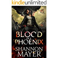 Blood of a Phoenix (The Nix Series Book 2) book cover