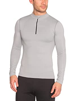 Red Level LR-52 - Ropa interior deportiva, color gris, talla M