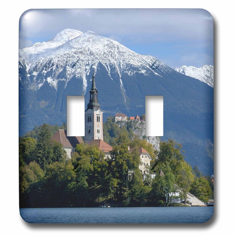 Lake Bled Engelbrecht Double Toggle Switch Bled Castle Eu38 Len0015 Lisa S Bled 3dRose lsp/_82846/_2 Slovenia