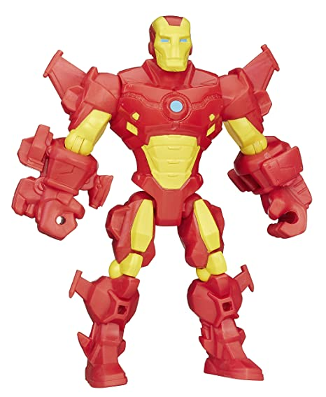 Image Unavailable. Image not available for. Color  Marvel Super Hero  Mashers Iron Man Figure c45c6ce5bf