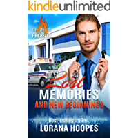 Lost Memories and New Beginnings: A Clean Medical Romantic Suspense (The Men of Fire Beach Book 2)