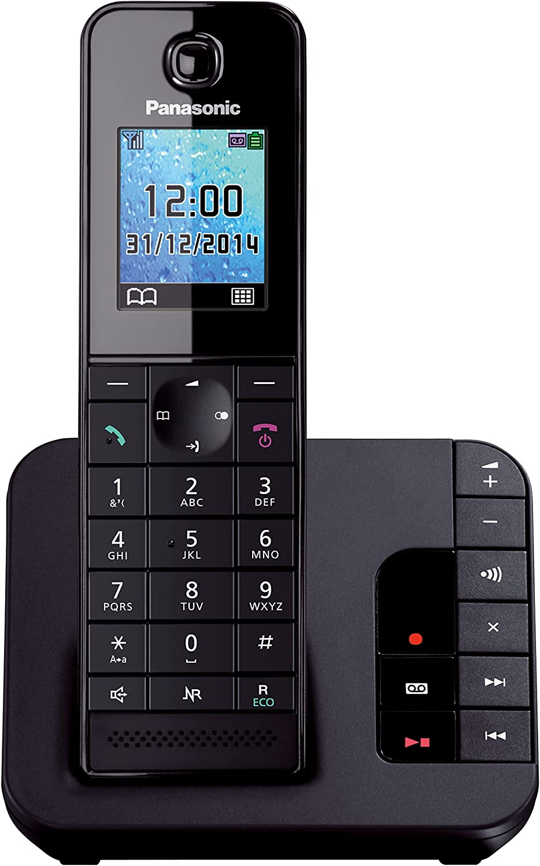 Panasonic Kx Tgh220gb Komfort Telefon Mit Elektronik