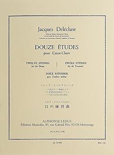 Douze Etudes Delecluse Pdf