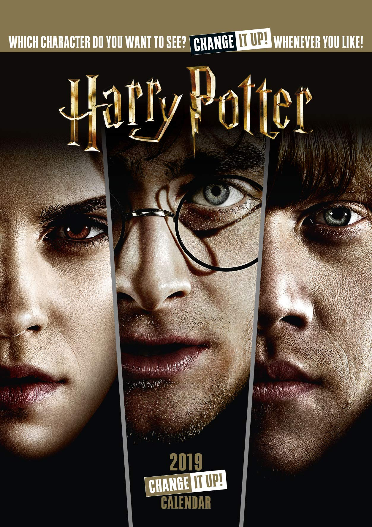 Harry Potter Official 2019 Calendar - A3 Change It Up Wall Calendar Format (Anglais) Calendrier – Calendrier mural, 15 septembre 2018 Danilo Promotions Limited 1785498592 NON-CLASSIFIABLE Address Books