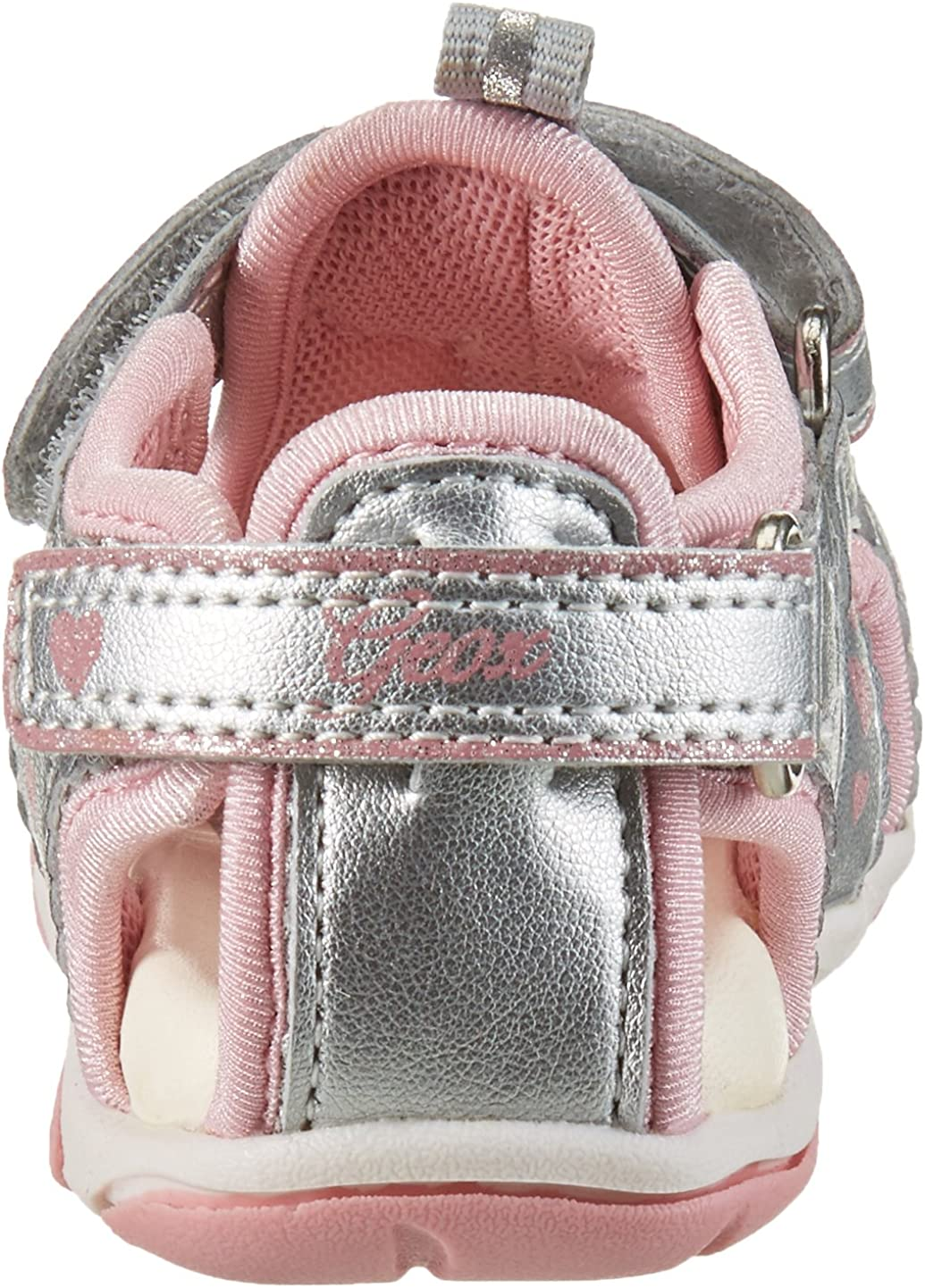 Chaussures Marche b/éb/é Fille Geox B Sandal Agasim Girl C