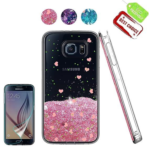samsung s6 glitter case