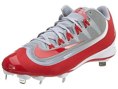 Men's Nike Air Huarache 2Kfilth Elite Mid Baseball Cleats Game Royal/Stealth/Univ R C55t5497
