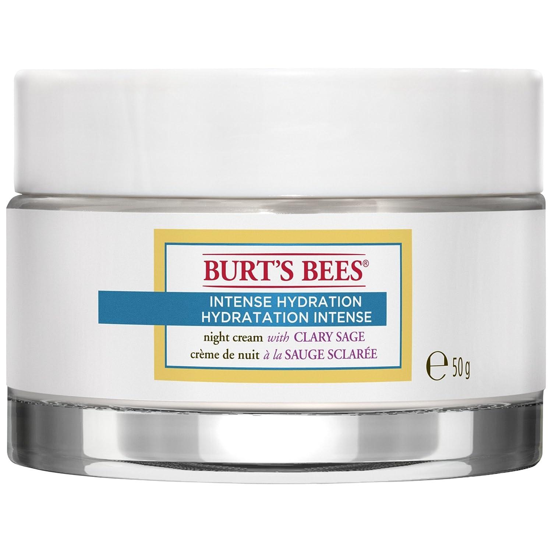 バーツビー激しい水和ナイトクリーム50グラム (Burt's Bees) (x2) - Burt's Bees Intense Hydration Night Cream 50g (Pack of 2) [並行輸入品]   B01MTJYU52