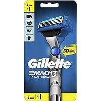 Gillette Mach3 Turbo 3D Razor with 2 Refill Blade