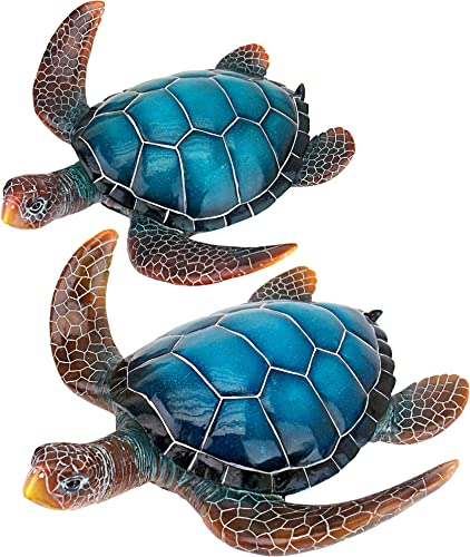 Design Toscano QL95958 Blue Sea Turtle Statue