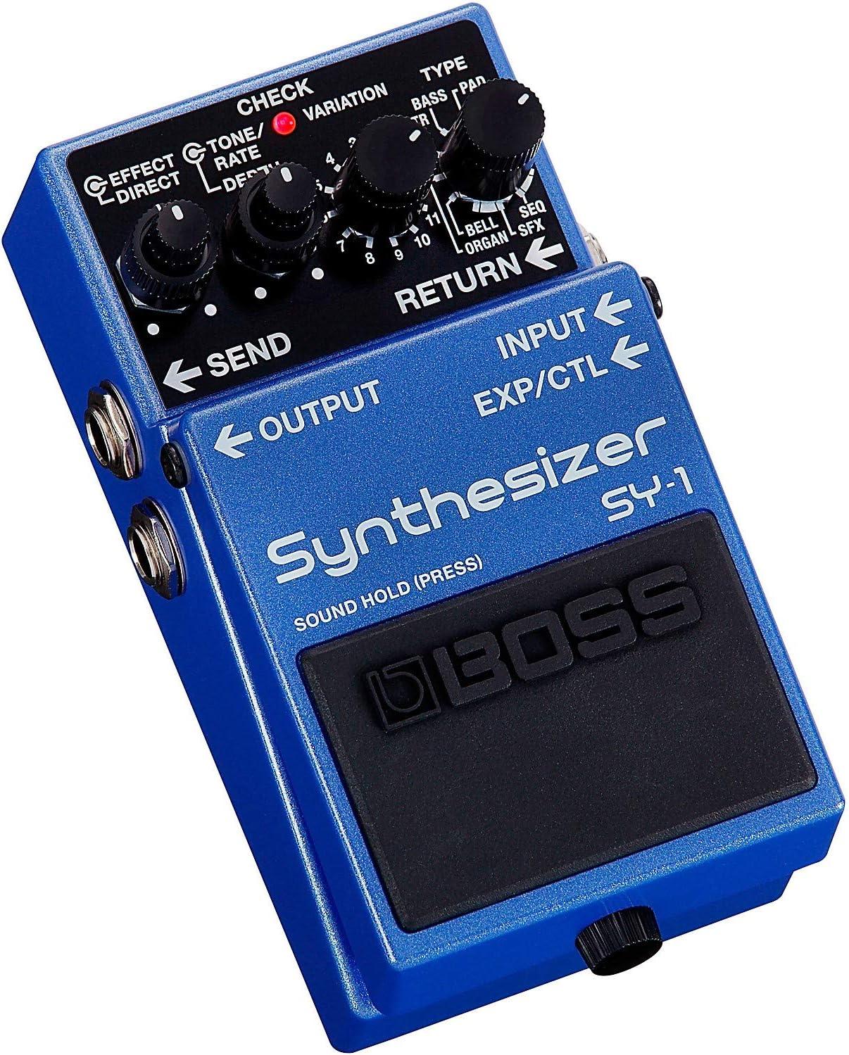 BOSS Sy-1 Pedal de guitarra sintetizador