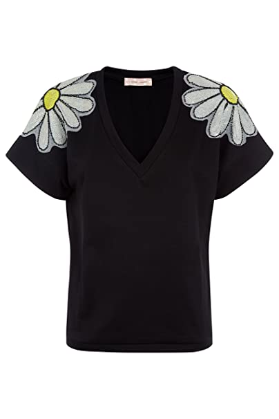 es Amazon Camisas People Negro Medium Para Mujer Traffic zqx6H1F