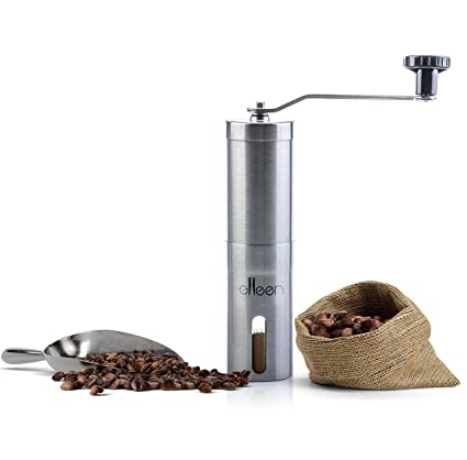 Sodial Manual Coffee Grinder Hand Coffee Beans Grinding Machine