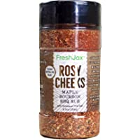 FreshJax Rosy Cheeks Gourmet Maple Bourbon Barbeque Seasoning Spice Rub Blend, Large 6.5oz