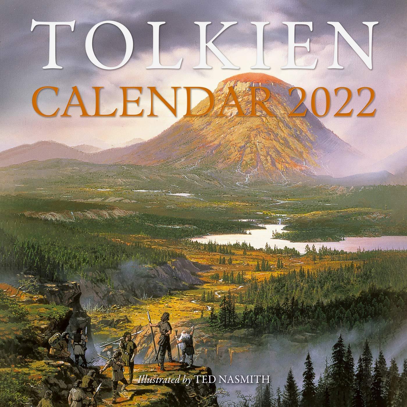 Tolkien Calendar 2022.Tolkien Calendar 2022 Tolkien J R R 9780063139732 Amazon Com Books