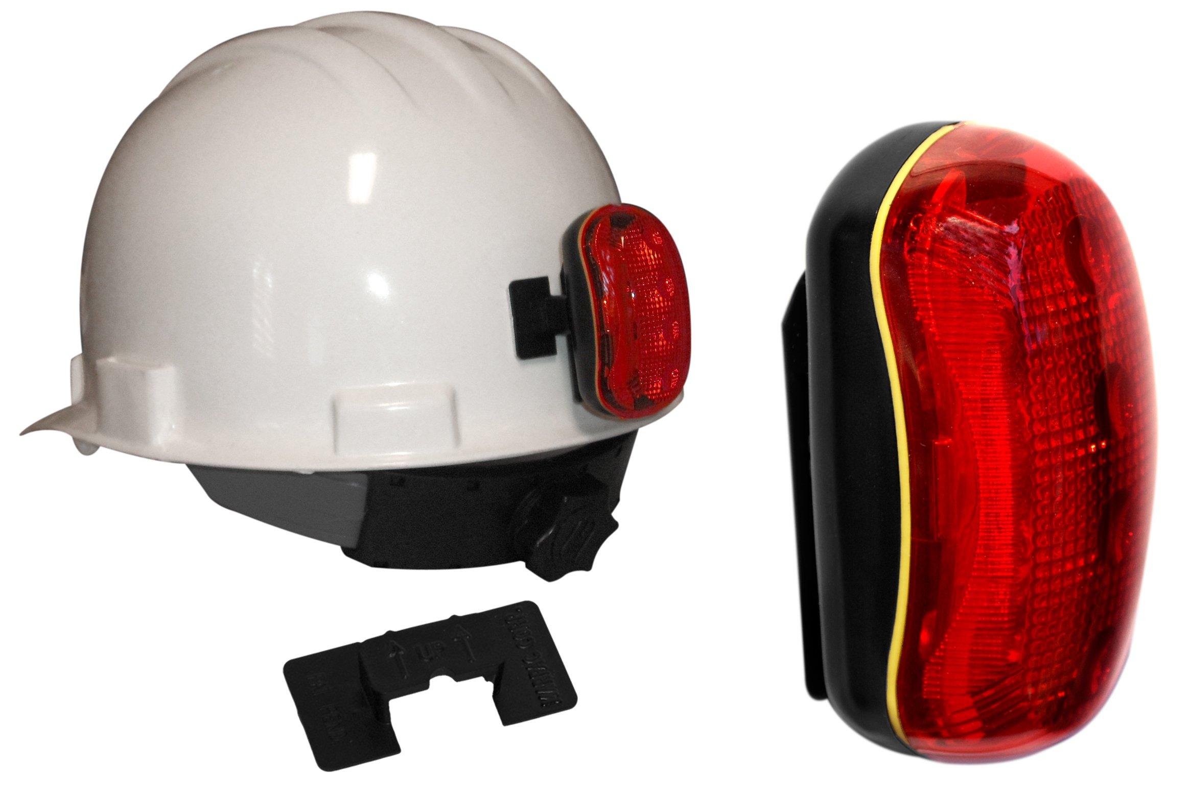 FoxFire 6005080 Hard Hat Light Kit, 4 LEDs, Red