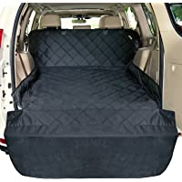 F-color SUV Cargo Liner for Dogs, Waterproof Pet Cargo Cover Dog Seat Cover Mat for SUVs…