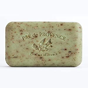 Pre de Provence Artisanal French Soap Bar Enriched with Shea Butter, Sage, 150 Gram
