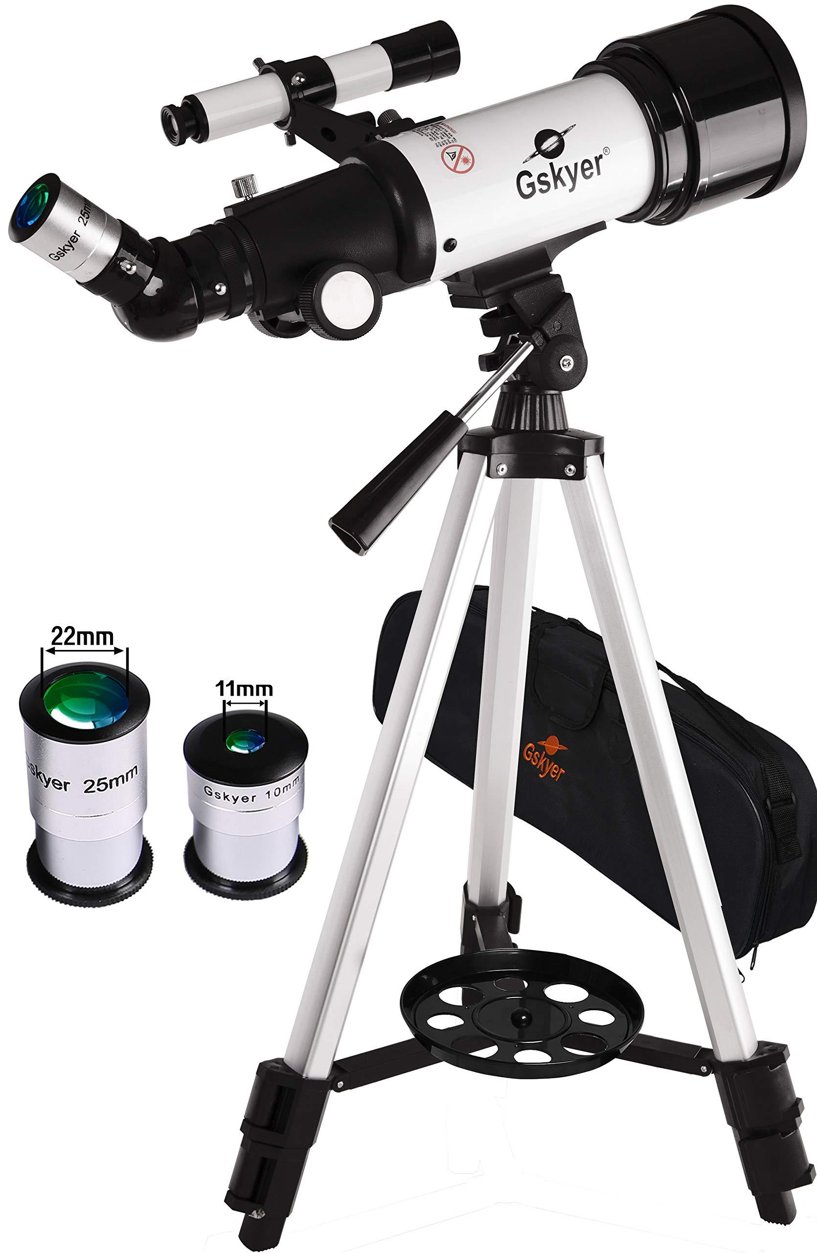 Gskyer Telescope, AZ70400 German Technology Astronomy Telescope,  Travel Refractor by Gskyer
