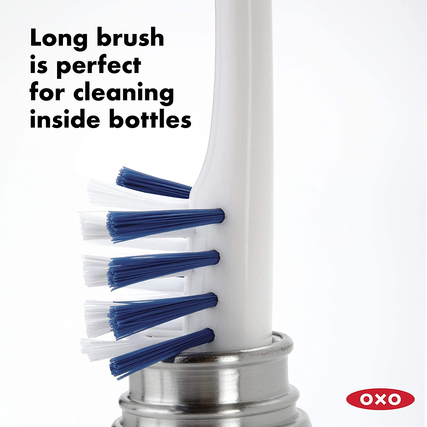 Oxo Good Grips Water//Sports Bottle Cleaning Set 3-Piece /& Good Grips Deep Clean Brush Set