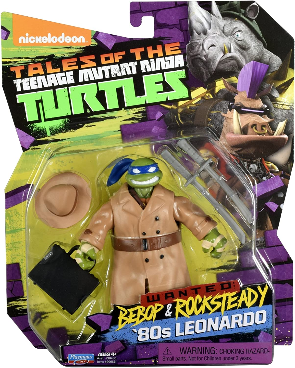 Amazon.com: Teenage Mutant Ninja Turtles Leonardo en el 80 ...