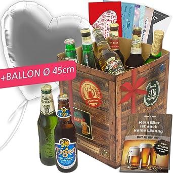 Geschenk Liebeserklarung Bier Set Welt Geschenk Idee Manner