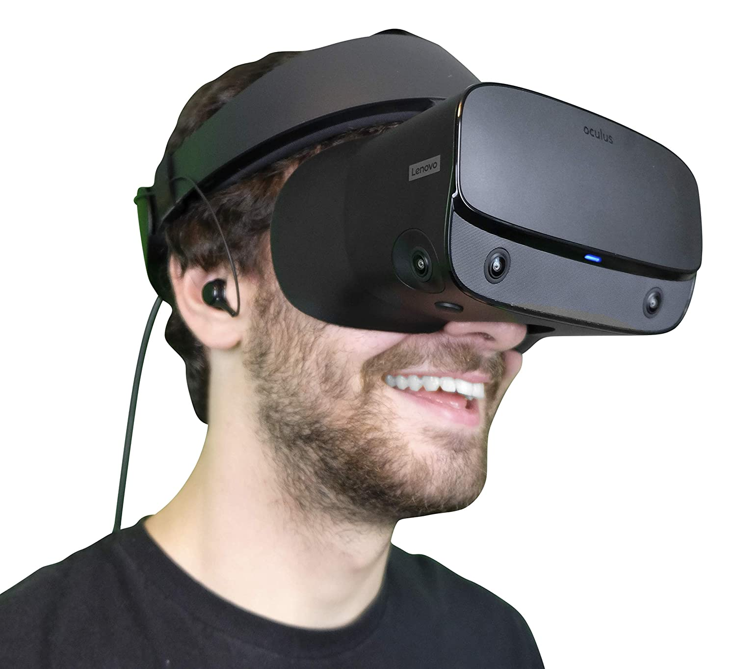 DeadEyeVR Integrated Rift S Headphones - Rift S Specific Headphones That Conveniently Attach to the Oculus Rift S Headset