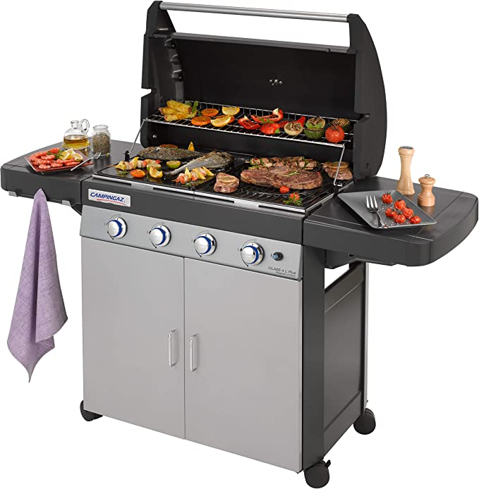 Campingaz Class 4L Plus - Barbacoa (12800 W, Barbacoa, Gas Natural ...