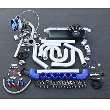 Acura RSX/Honda Civic DC5 K20 alto rendimiento 15pcs t04e Turbo Upgrade Kit de instalación: Amazon.es: Coche y moto