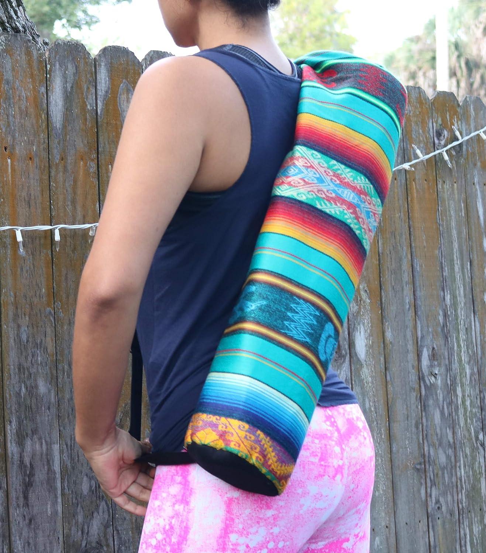 Amazon.com: Aqua - Bolsa para esterilla de yoga, hombro ...