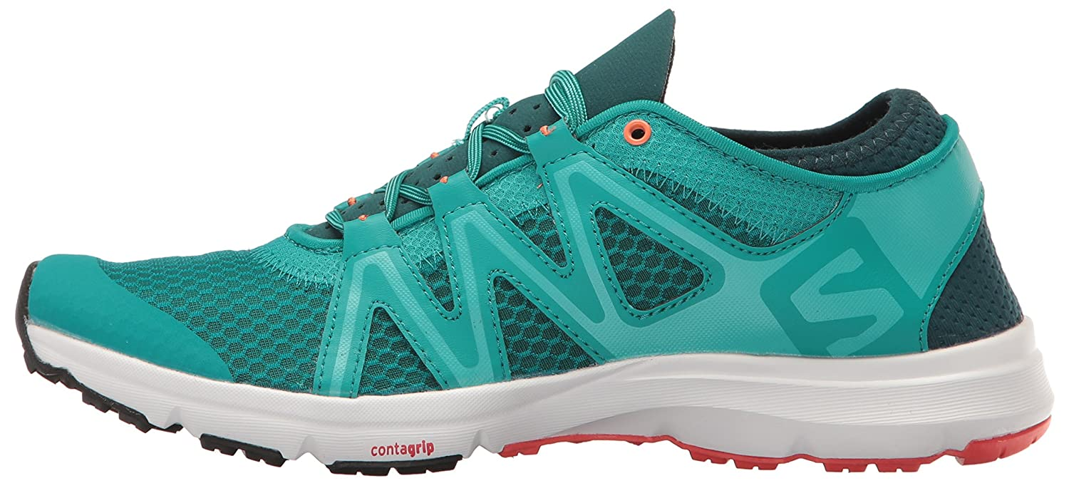 Salomon Women's Crossamphibian Swift W Athletic US|Deep Sandal B01HD2TH9M 7 B(M) US|Deep Athletic Peacock Blue bff542