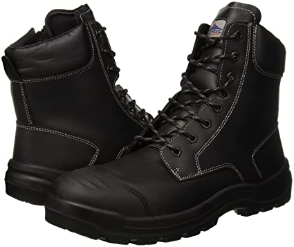 Portwest FD15 - Eden Bota de seguridad S3 HRO CI HI, color Negro, talla 38: Amazon.es: Industria, empresas y ciencia