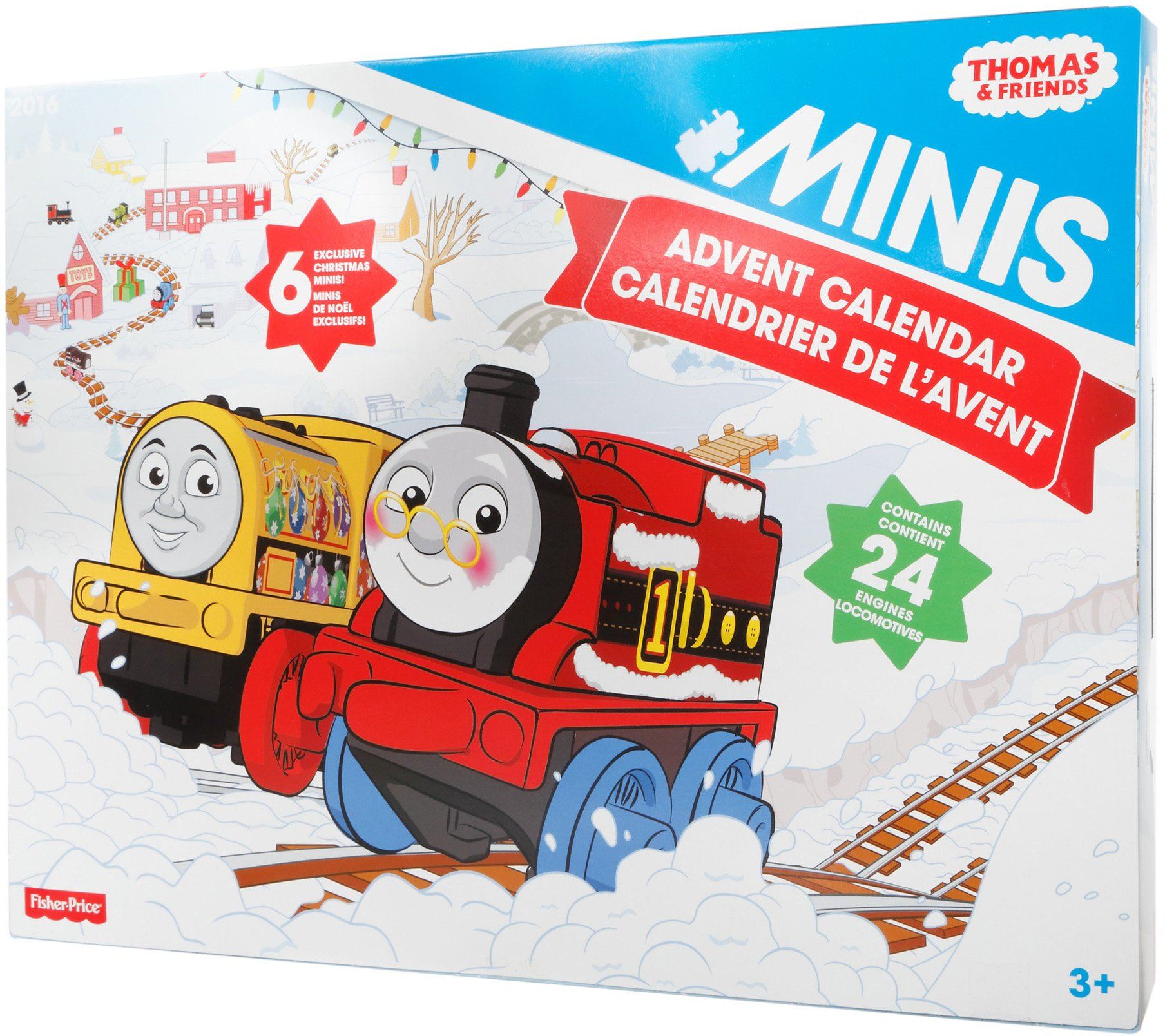 Thomas & Friends Fisher-Price MINIS, Advent Calendar by Thomas & Friends (Image #9)