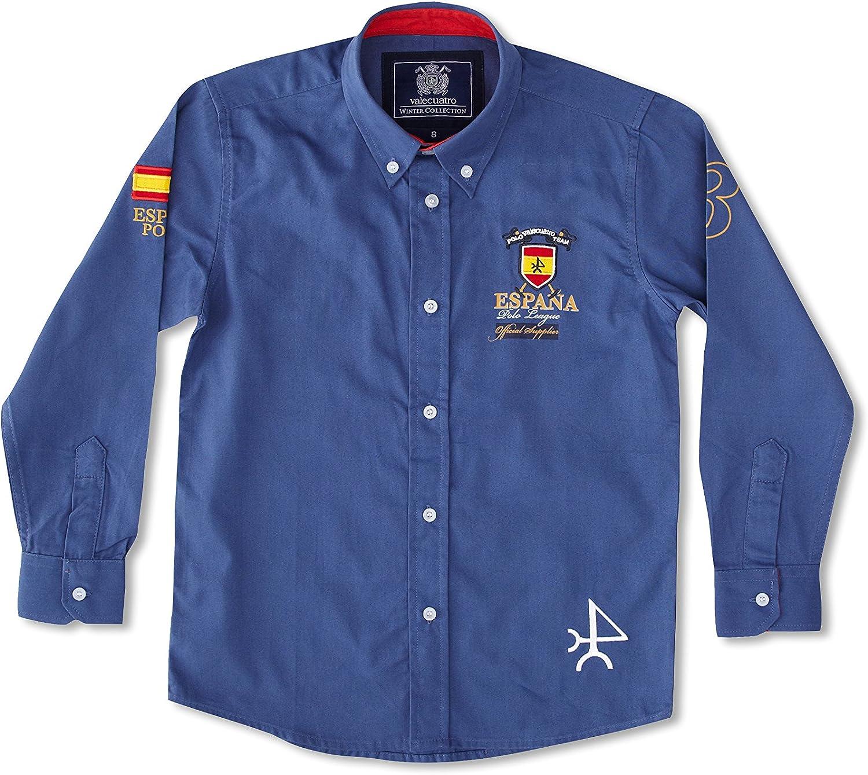 Valecuatro Camisa Casual Parche España: Amazon.es: Ropa y accesorios